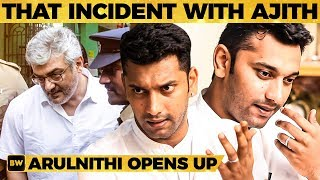 Thala Ajith's Shocking Behaviour - Arulnithi Shares Unknown Stories From Past | MY 475