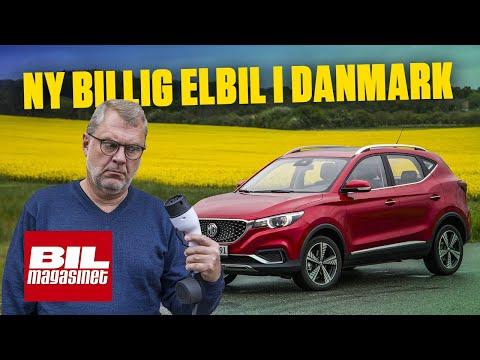 Vi Tester MG ZS, En Ny Elbil I Danmark Til Kun 220.000 Kr.