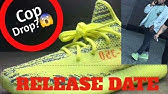 26a2a390512b SneaksLimited Adidas Yeezy Boost 350 v2 Semi Frozen Yellow - YouTube
