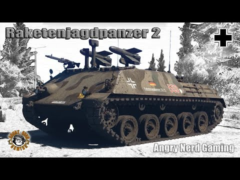 War Thunder: Raketenjagdpanzer-2, German, Tier-5, Anti-Tank Missile Carrier