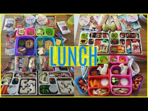 Summer Camp/School Lunch Ideas! 🍏  Week 16 | Sarah Rae Vlogas |