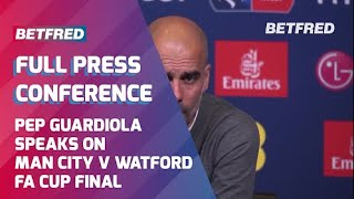 😡 Guardiola reacts furiously to reporter's question - FULL Press Conference - Man City v Watford