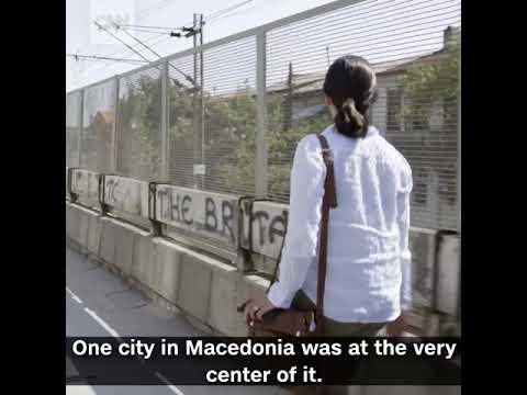 Macedonia the home of fake news
