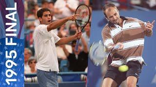 Pete Sampras vs Andre Agassi   US Open 1995 Final