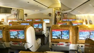 EMIRATES IT HOME. THE BUSINESS CLASS WAY | DUBAI-ZURICH | B777