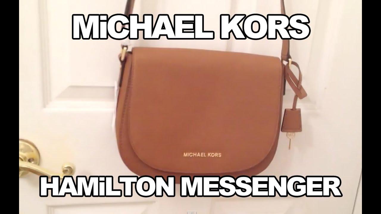 57942b58a23c MiCHAEL KORS HAMiLTON MESSENGER REViEW - YouTube