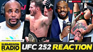 REACTION: UFC 252 Miocic vs. Cormier 3, Eye Pokes, DC's Exit From MMA, O'Malley/Vera Bizarre Ending