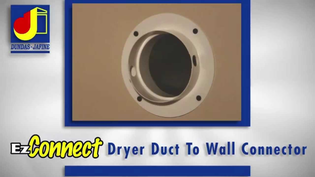 Dundas Jafine Features Benefits Ezconnect Dryer Duct To Wall Connector