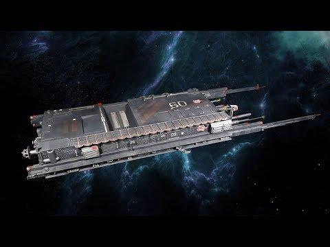 """Scratchbuild starship project - """"Retribution"""""""