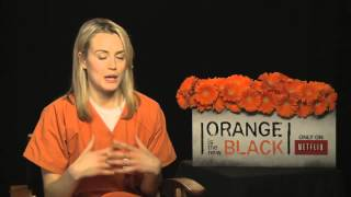Taylor Schilling on Orange is the New Black