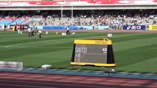 SEIKO GGP2017 Women Javelin Throw Marina SAITO 56m19(6th throw) 斉藤真理菜