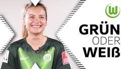 Chaos oder Ordentlich? | Joelle Wedemeyer in Grün oder Weiß | VfL Wolfsburg Frauen