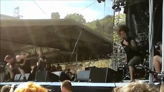 Cattle Decapitation - Forced Gender Reassignment live - Brutal Assault 2012