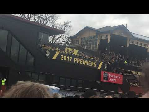 Richmond 2017 Premiership famliy Day celebrations