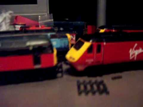 My Model Railway (Coupling On A Hornby HST)