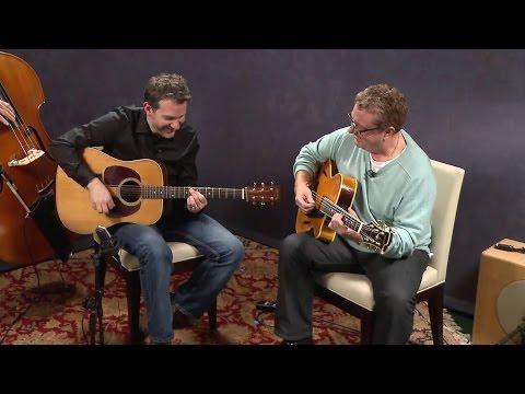 "Martin Taylor and Bryan Sutton playing Jazz Guitar: ""Napa Swing"""