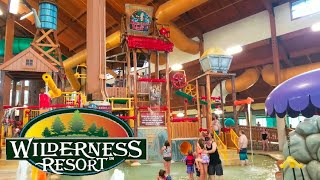 Wilderness Resort Wisconsin Dells Water Park Family vacation