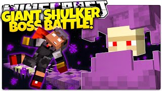 Minecraft 1.9 | GIANT SHULKER BOSS FIGHT! 7 Crazy Attacks (Minecraft 1.9 Snapshot Custom Boss)