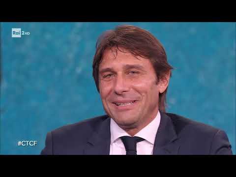 Antonio Conte - Che tempo che fa 22/12/2019