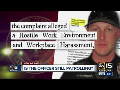 Glendale officer from tasing investigation has history of suspensions, discipline