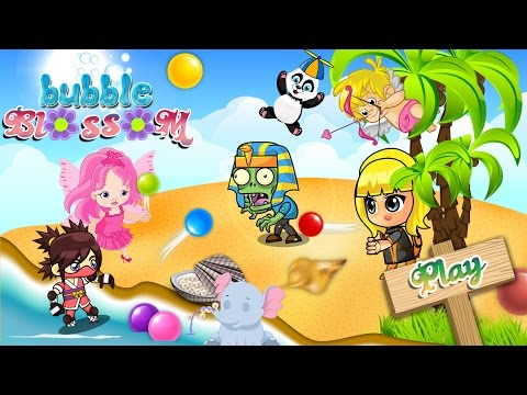 Bubble Blossom Game - Match 3 Bubble Shooter