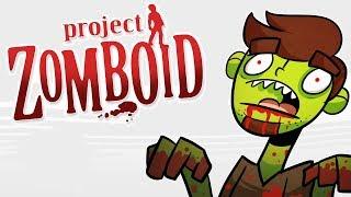МНОГО ЗОМБИ И БАНДИТОВ |PROJECT ZOMBOID 41.2|  #1