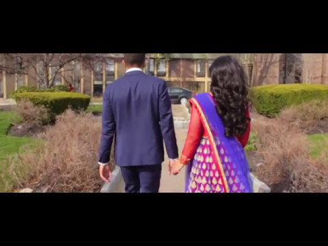 The Engagement of Nithin and Praisey