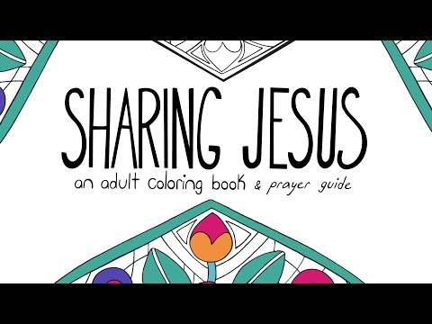 Sharing Jesus: Coloring Book Campaign