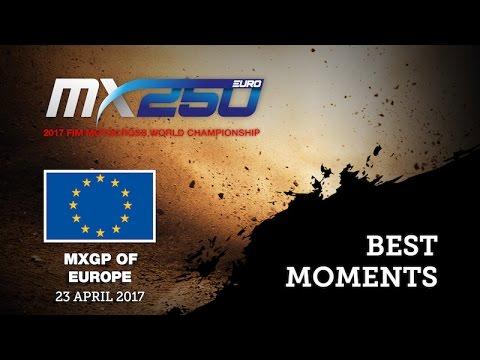 EMX250 Round of Europe - Valkenswaard 2017 - Race 1 Highlights