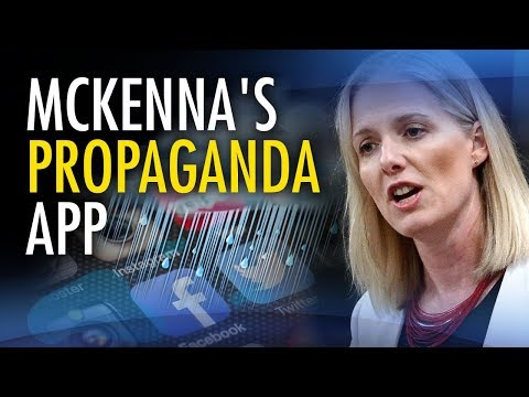 "McKenna gets into mobile app biz with climate change ""propaganda tool"""