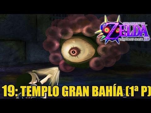 The Legend of Zelda: Majora's Mask 3D #19 - Templo Gran Bahía (1ª parte) - Guía 100% en español