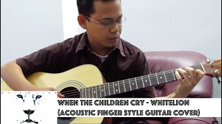 Acoustic Finger style - When the Children cry by White Lion