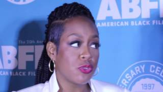 Tichina Arnold at the 2016 ABFF