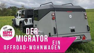 Der Migrator - Ein Offroad-Wohnwagen   Happy Camping