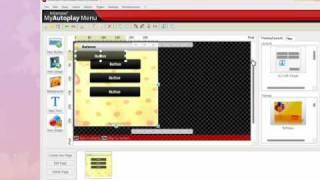Creando con My autoplay menu