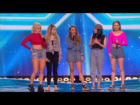The X Factor UK 2017 New Girl Band Six Chair Challenge Full Clip S14E13 thumbnail