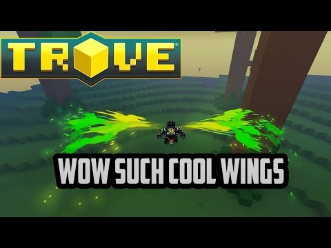 Trove: HOW TO GET BALEFIRE WINGS!!