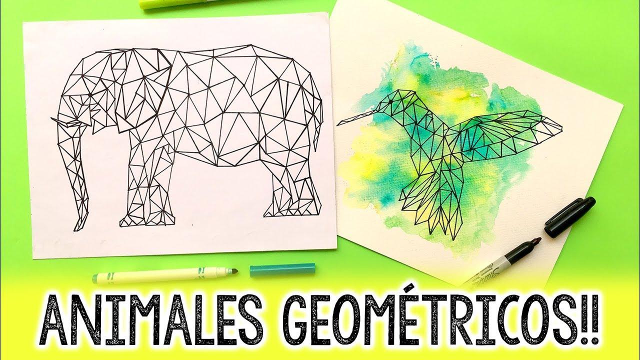 Cómo Hacer Animales Geométricos Barbs Arenas Art Youtube