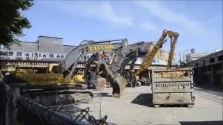 Demolition Equipment Ready For Work