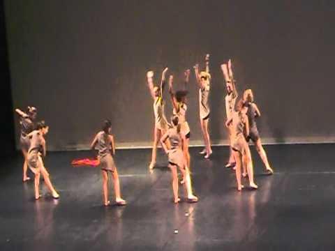 Athénaïs - 03 06 11 - Concours national danse contemporaine groupe CND Amiens 2011