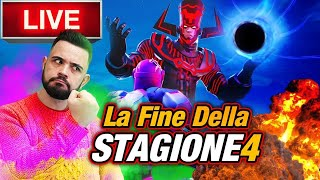🔴Live: EVENTO FORTNITE ORE 22.00, La fine della season 4!