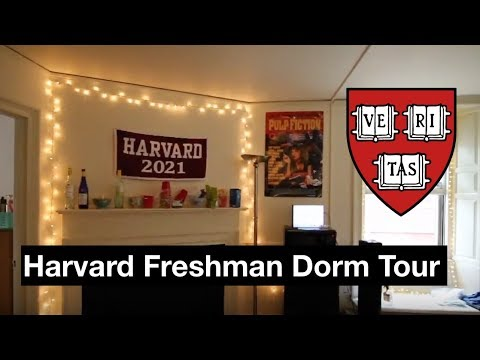 Harvard Freshman Dorm Room Tour