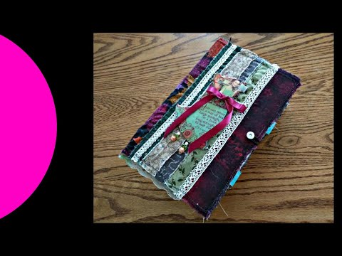 Whimsical, Interactive Junk- Art Journal Hybrid Part 2