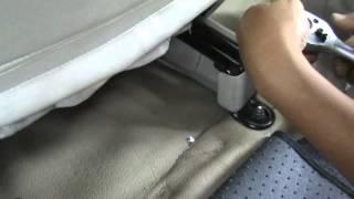 Avanza - 04. Pemasangan Subwoofer di Bawah Jok Pengemudi
