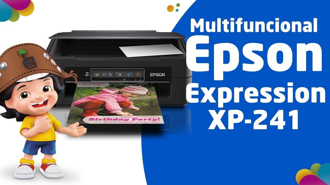 descargar driver scanner epson xp 241