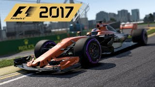 My First Ever F1 2017 Online Race - ACR Round 1 Melbourne