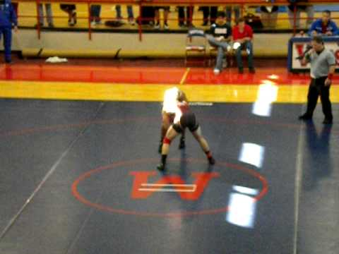 MARSHALL WRESTLING AT DISTRICTS