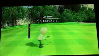 Wii Sports Golf EXTREME FAIL