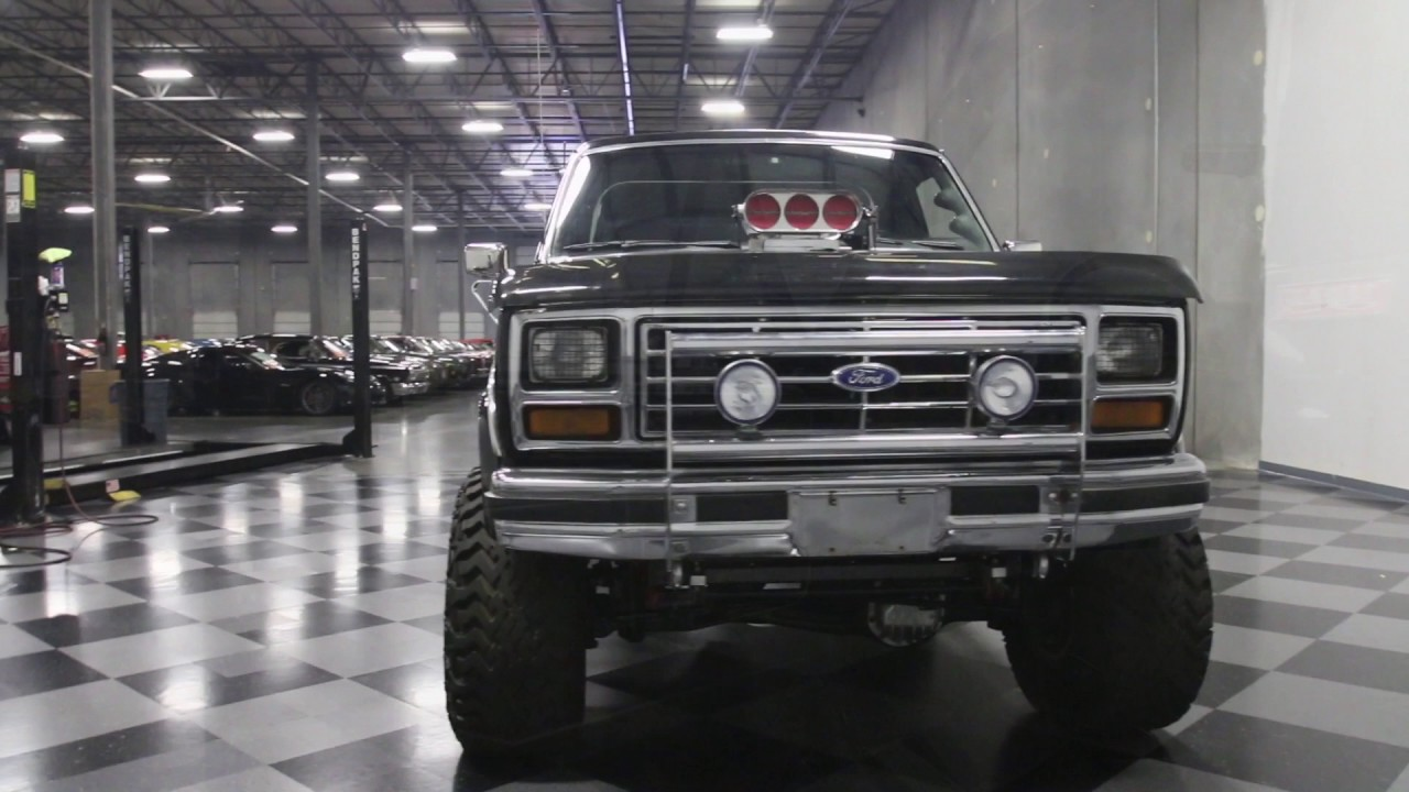 2017 Ford Bronco >> 3655 ATL 1981 Ford Bronco 4x4 Supercharged - YouTube