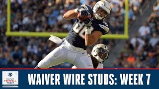 Waiver Wire Targets: Week 7 | 2019 Fantasy Football Advice | Fantasy Football Today